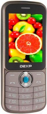 Мобильный телефон DEXP Larus M1 (бронзовый)