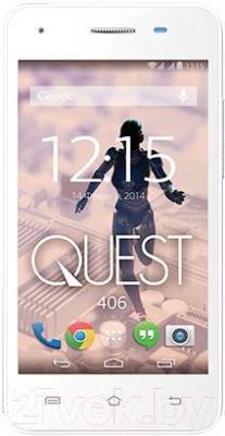 Смартфон Qumo Quest 406 (белый)
