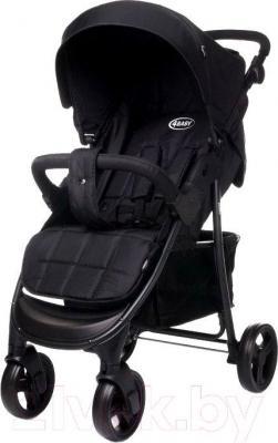 Детская прогулочная коляска 4Baby Rapid 2015 (черный) - общий вид
