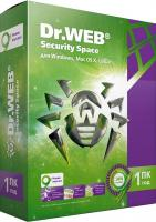 Антивирусное ПО Dr.Web Security Space 1 ПК/1 год (BHW-B-12M-1-A3) -