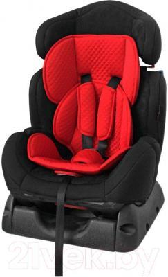 Автокресло Lorelli Safeguard (черно-красный) - общий вид