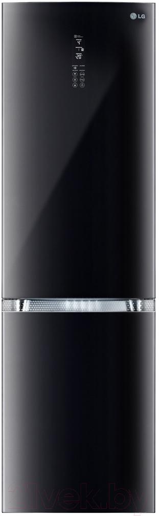 Холодильник с морозильником LG