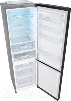 Холодильник с морозильником LG GA-B489TGLB - внутренний вид