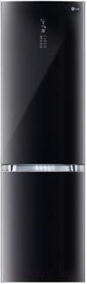 Холодильник с морозильником LG GA-B489TGLB - общий вид