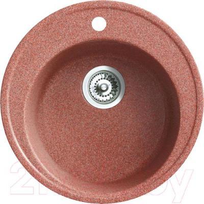 Мойка кухонная Belux BRG-51-01 (терракотовый) - общий вид
