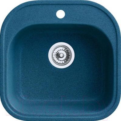 Мойка кухонная Belux BBG-4949-01 (бирюзовый) - общий вид