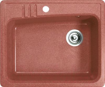 Мойка кухонная Belux KSD-6151-01 (терракотовый) - общий вид