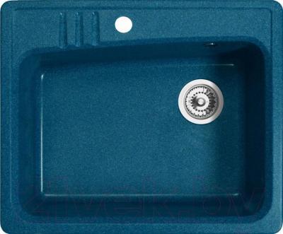 Мойка кухонная Belux KSD-6151-01 (бирюзовый) - общий вид