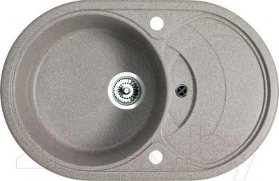 Мойка кухонная Belux BLG-7850  (серый) - общий вид