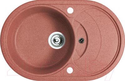 Мойка кухонная Belux BLG-7850 (терракотовый) - общий вид