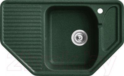 Мойка кухонная Belux KMT-7950-01 (темно-зеленый)