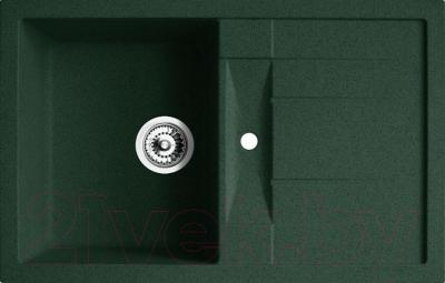 Мойка кухонная Belux KLG-8050 (темно-зеленый)