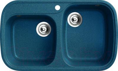 Мойка кухонная Belux KWD-8149-01 (бирюзовый)