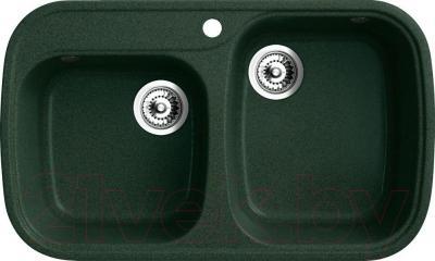 Мойка кухонная Belux KWD-8149-01 (темно-зеленый)