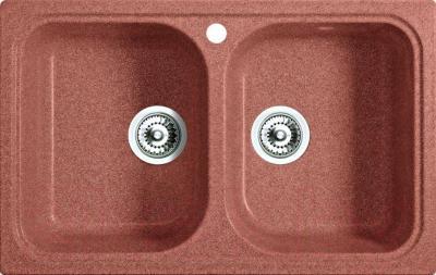 Мойка кухонная Belux KWD-8550-01 (терракотовый)