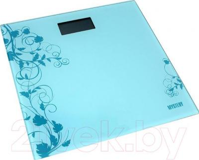 Напольные весы электронные Mystery MES-1808 (синий)