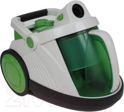 Пылесос Mystery MVC-1107 (бело-зеленый) - общий вид