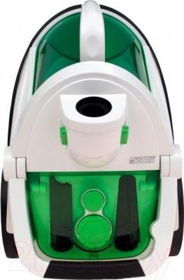 Пылесос Mystery MVC-1107 (бело-зеленый)