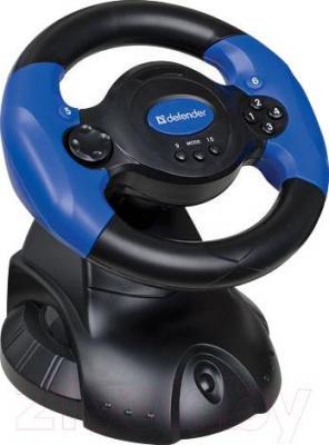 Игровой руль Defender Adrenaline Mini LE / 64391
