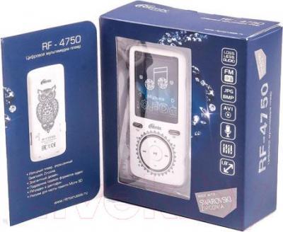 MP3-плеер Ritmix RF-4750 (8Gb, белый) - упаковка