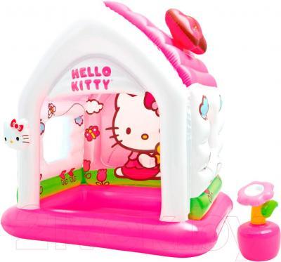 Детская игровая палатка Intex Hello Kitty 48631NP (137х109х122)