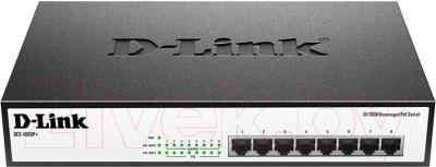 Коммутатор D-Link DES-1008P+