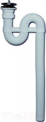 Сифон для умывальника Вир Пласт 132 (белый)