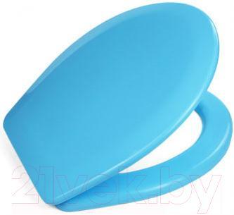 Сиденье для унитаза ОРИО К-02 (голубой)