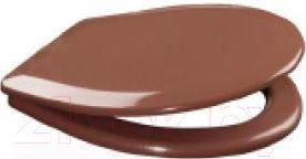 Сиденье для унитаза ОРИО К-07-2 (коричневый)