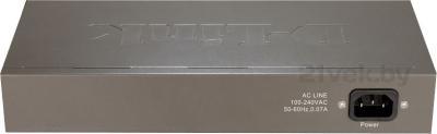 Коммутатор D-Link DES-1016A - вид сзади