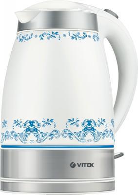 Электрочайник Vitek VT-1157 SR/W - общий вид