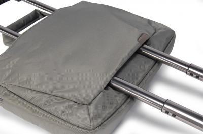 Сумка для ноутбука Tucano Expanded WorkOut 17 Gray - возможность крепления на тележку