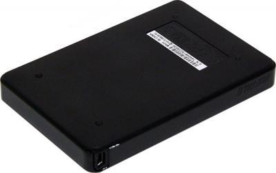 Внешний жесткий диск Buffalo MiniStation HD-PCU2 500GB Black (HD-PC500U2B) - вид сзади