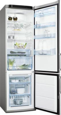 Холодильник с морозильником Electrolux ENA 38953 X - общий вид
