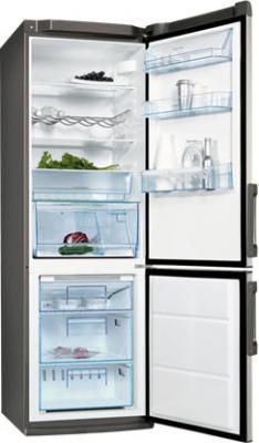 Холодильник с морозильником Electrolux ENB 34943 X - общий вид