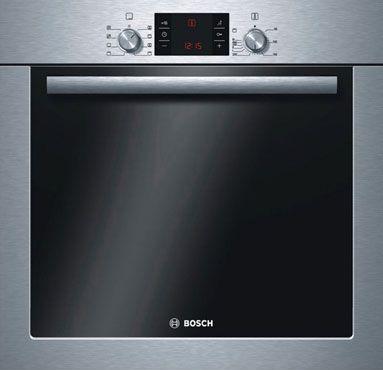 Электрический духовой шкаф Bosch HBG43T450 - вид спереди