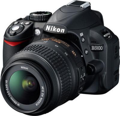 Зеркальный фотоаппарат Nikon D3100 Kit 18-55mm VR - Общий вид