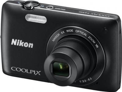 Компактный фотоаппарат Nikon Coolpix S4300 (Black) - общий вид