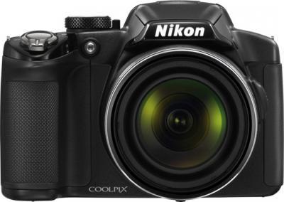 Компактный фотоаппарат Nikon Coolpix P510 Black - Вид спереди