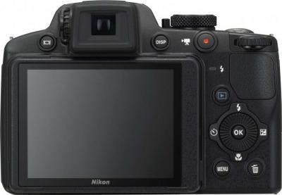 Компактный фотоаппарат Nikon Coolpix P510 Black - Вид сзади