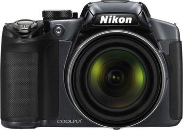 Компактный фотоаппарат Nikon Coolpix P510 Silver - вид спереди