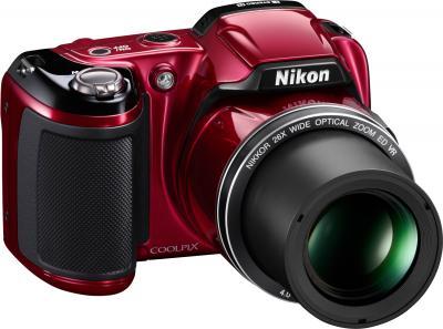 Компактный фотоаппарат Nikon COOLPIX P510 Red - общий вид