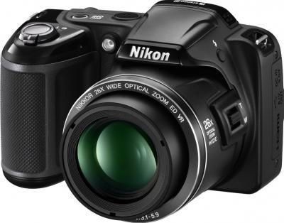Компактный фотоаппарат Nikon Coolpix L810 (Black) - общий вид