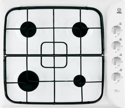 Газовая варочная панель Indesit PIM 640 AS (WH) - общий вид