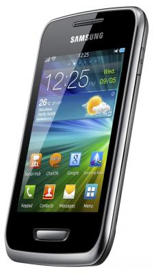 Смартфон Samsung S5380 Wave Y Silver (GT-S5380 SSDSER) - общий вид