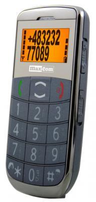 Мобильный телефон MaxCom ММ450ВВ - вид сбоку