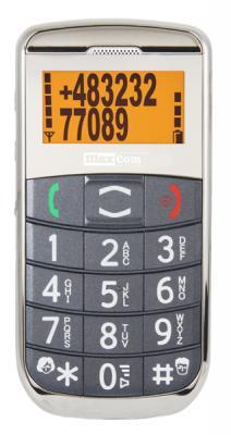 Мобильный телефон MaxCom ММ450ВВ - вид спереди