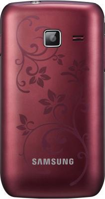 Смартфон Samsung S5380 Wave Y Wine Red (GT-S5380 WRFSER) - вид сзади