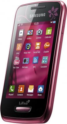 Смартфон Samsung S5380 Wave Y Wine Red (GT-S5380 WRFSER) - общий вид