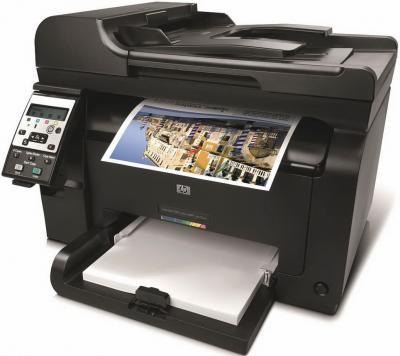 Мфу HP LaserJet Pro 100 MFP 175nw (CE866A) - общий вид